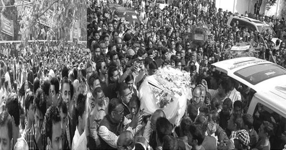 সুরঞ্জিত সেনগুপ্তকে শ্রদ্ধা আর ভালোবাসায় বিদায় জানালো সিলেটবাসী