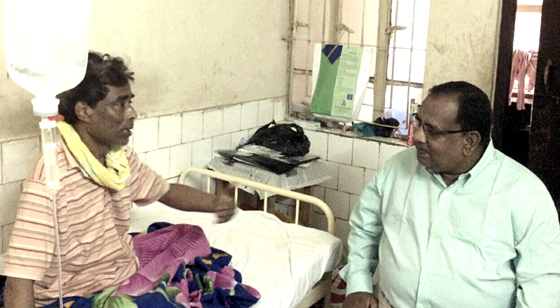 গোলাপগঞ্জ বিএনপি নেতা ছালিক চৌধুরীর পেটে অস্ত্রোপাচার সম্পন্ন