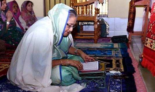 আসুন ধর্মান্ধতা ও কূপমণ্ডূকতা পরিহার করে ইসলামের চেতনাকে প্রতিষ্ঠা করি : প্রধানমন্ত্রী