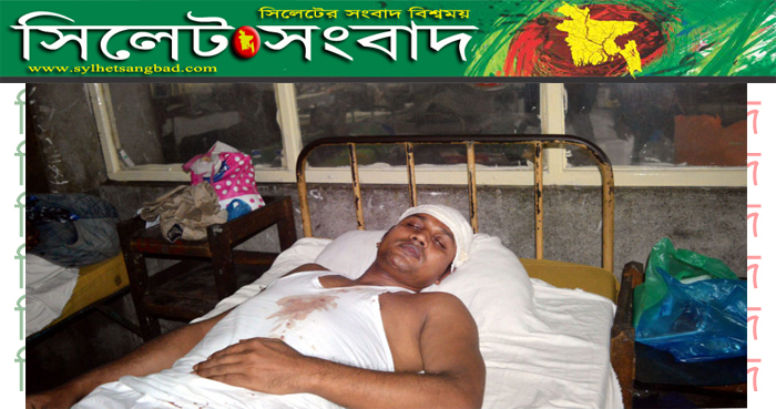 সন্ত্রাসী হামলায় যুবদল নেতা সোনাহর আলী সোহেল গুরুতর আহত