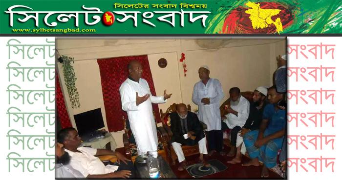 গোলাপগঞ্জ-বিয়ানীবাজারবাসীর পাশে ছিলাম আছি থাকবো : ফয়সল চৌধুরী