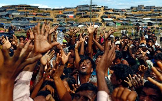 রোহিঙ্গাদের সহায়তায় ২৮ মিলিয়ন ডলার দেবে যুক্তরাষ্ট্র