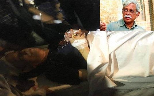 এয়ার অ্যাম্বুলেন্সযোগে ঢাকায় নেয়া হচ্ছে ড. জাফর ইকবালকে