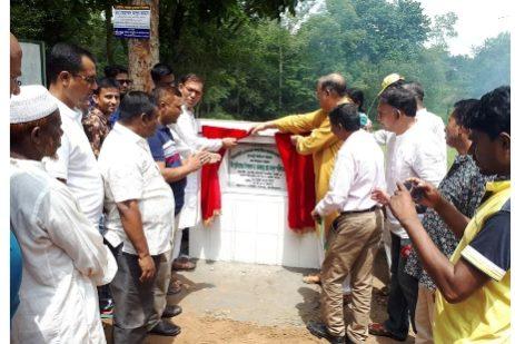 শ্রীমঙ্গল-কমলগঞ্জ-ফুলবাড়ী সড়ক নির্মাণ কাজের উদ্ভোধন