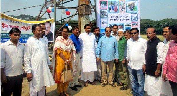৫ কোটি টাকা ব্যয়ে ফেঞ্চুগঞ্জ উপজেলা পরিষদ কমপ্লেক্সের নির্মাণ কাজ শুরু