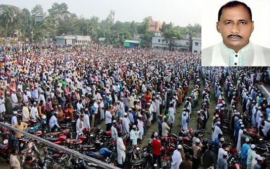বিএনপি নেতা চেয়ারম্যান আবু বকর আবুর দাফন সম্পন্ন