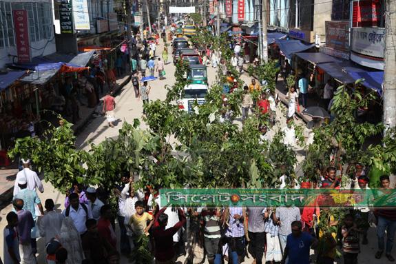 হযরত শাহজালালের (রঃ) ঐতিহ্যবাহী 'লাকড়ি তোড়া' উৎসব সম্পন্ন