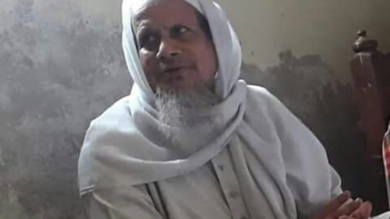 আল্লামা শিহাব উদ্দিন চতুলী আর নেই, জানাযা বিকেল ৩টায়