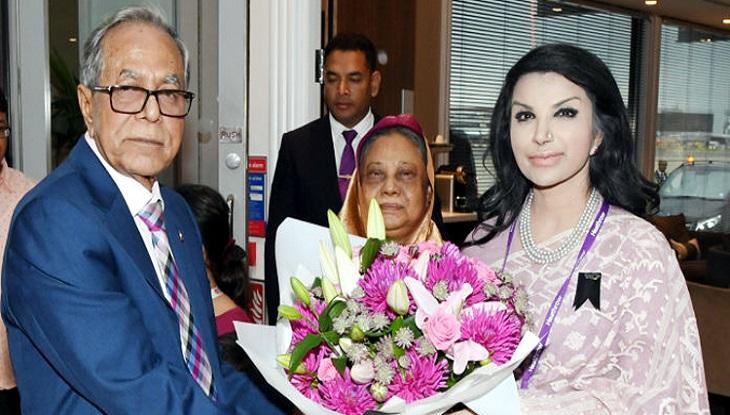 লন্ডনে রাষ্ট্রপতি মো. আবদুল হামিদ