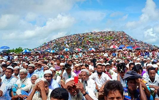 রোহিঙ্গা সমাবেশে মদদদাতারা চিহ্নিত, জেলা প্রশাসনের প্রতিবেদন