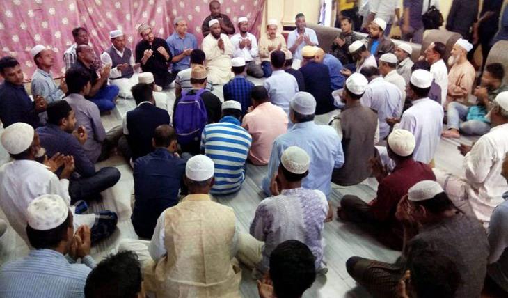 শাহাব উদ্দিনের ৪র্থ মৃত্যু বার্ষিকীতে যুবদলের মিলাদ মাহফিল অনুষ্ঠিত