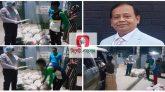 সিলেটে বিএনপি নেতা এমদাদ চৌধুরী'র ত্রান বিতরন অব্যাহত
