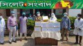 শামসুদ্দিন হাসপাতালের সেবাদানকারীদের ঈদ উপহার দিলেন বিএনপি নেতা এমাদাদ চৌধুরী