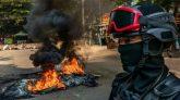 মিয়ানমার সেনা অভ্যুত্থান : ক্র্যাকডাউনে এক দিনে ৮০ জনের বেশি নিহত