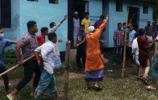 বরিশালের গৌরনদীতে বিজয় মিছিলে ককটেল হামলা, যুবক নিহত