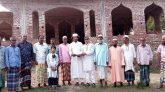 গোয়াইনঘাটে বাইতুল জান্নাহ শাহী জামে মসজিদের উন্নয়নে এক লক্ষ টাকা প্রদান